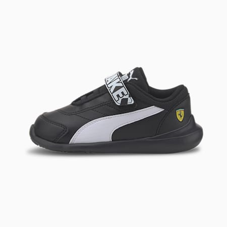 Scuderia Ferrari Kart Cat III Toddler Shoes, Puma Black-Puma White, small