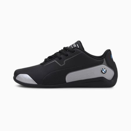 BMW M Motorsport Drift Cat 8 Youth Trainers, Puma Black-Puma Silver, small