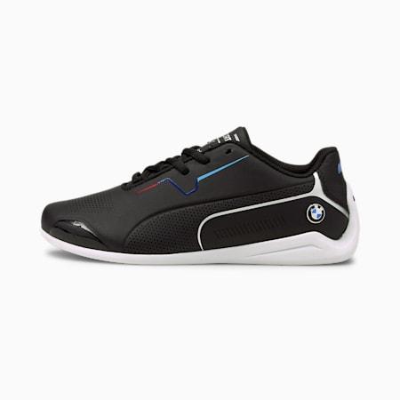 BMW M Motorsport Drift Cat 8 hardloopschoenen voor jongeren, Puma Black-Puma Black, small