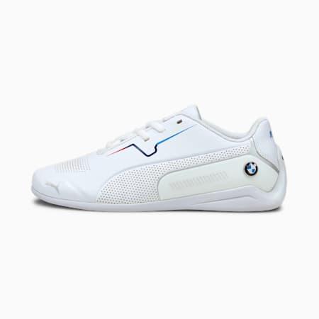 Zapatos BMW M Motorsport Drift Cat8 JR, Puma White-Puma White, pequeño