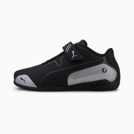 BMW M Motorsport Drift Cat 8 V Kids Sneaker, Puma Black-Puma Silver, small