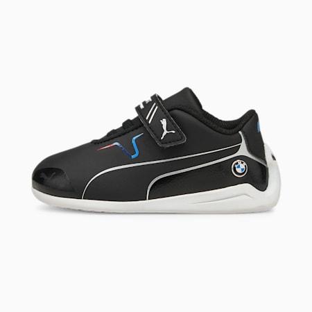 BMW M Motorsport Drift Cat 8 V Babies' Running Shoes, Puma Black-Puma Black, small