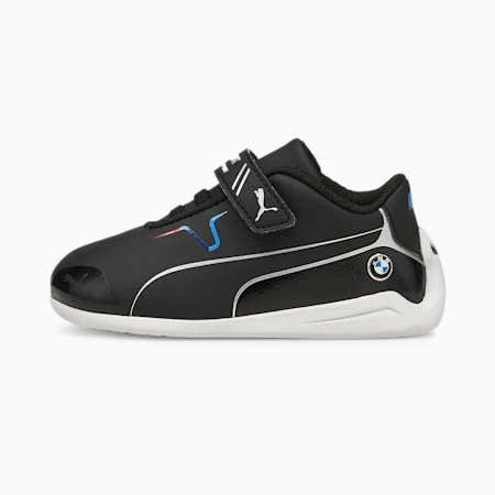BMW M Motorsport Drift Cat 8 V Babies' Running Shoes, Puma Black-Puma Black, small-GBR