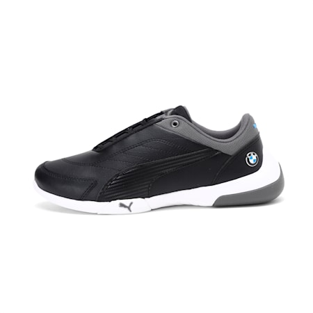 BMW M Motorsport Kart Cat III JR Running Shoes, Puma Black-Puma Black, small-IND
