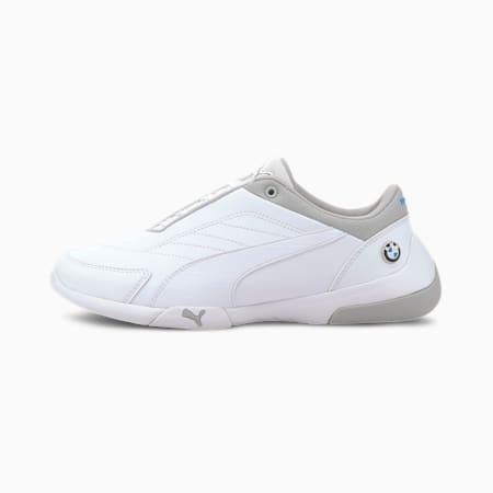 BMW M Motorsport Kart Cat III Motorsport Shoes JR, Puma White-Puma White, small