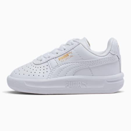 GV Special Toddler Shoes, Puma White-Puma Team Gold, small