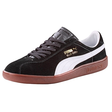 PUMA Bluebird Sneaker, black-white, small-IND