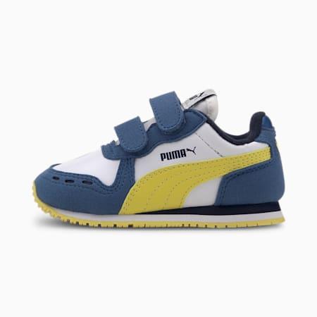 Sneaker Cabana Racer SL neonato, Puma White-Bright Cobalt, small