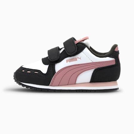 Cabana Racer SL Toddler Shoes, Puma White-Foxglove, small