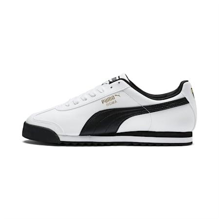 Roma Basic Sneaker, white-black, small