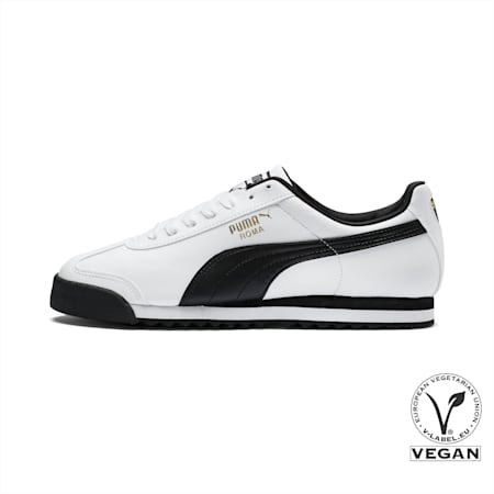 Roma Basic Trainers, white-black, small