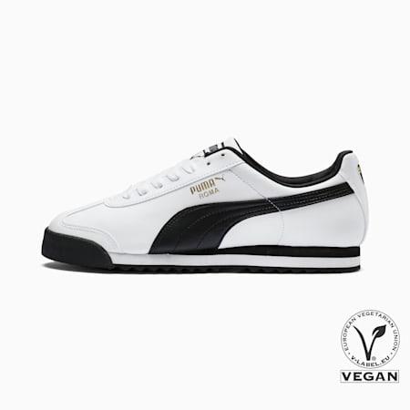 Zapatos deportivos Roma Basic para hombre, blanco-negro, pequeño