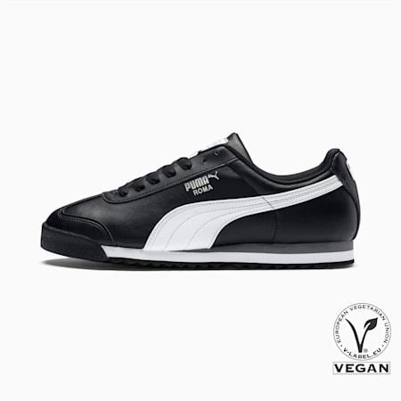 로마 베이직/Roma Basic, black-white-puma silver, small-KOR