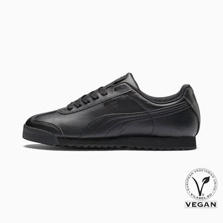 Roma Basic Men's Sneakers, black-black, small