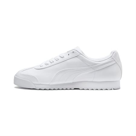 Roma Basic Sneaker, white-light gray, small
