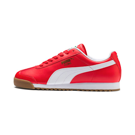 Roma Basic Men's Sneakers, High Risk Red-Puma White, small-IND