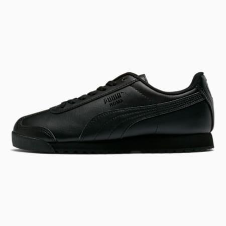 Zapatos deportivos Roma Basic JR, negro-negro, pequeño