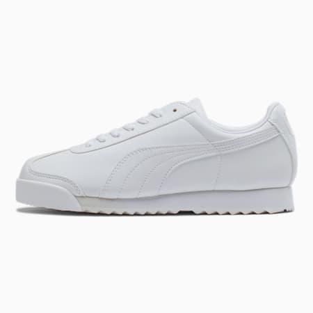 Zapatos deportivos Roma Basic JR, blanco-gris claro, pequeño
