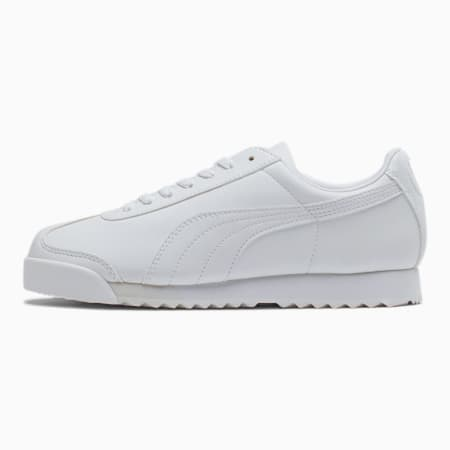 Zapatos deportivos Roma Basicpara jóvenes, blanco-gris claro, pequeño