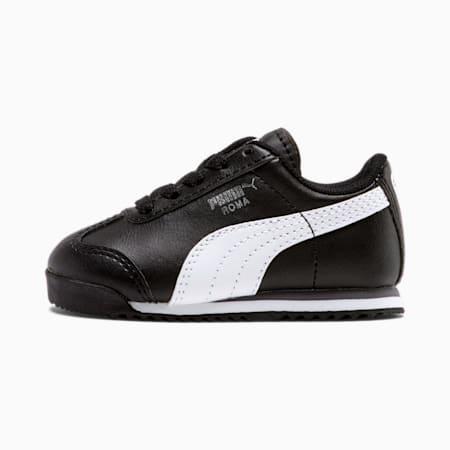 Zapatos Roma Basic para bebés, black-white-puma silver, pequeño
