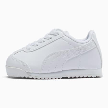Zapatos Roma Basic para bebés, blanco-gris claro, pequeño