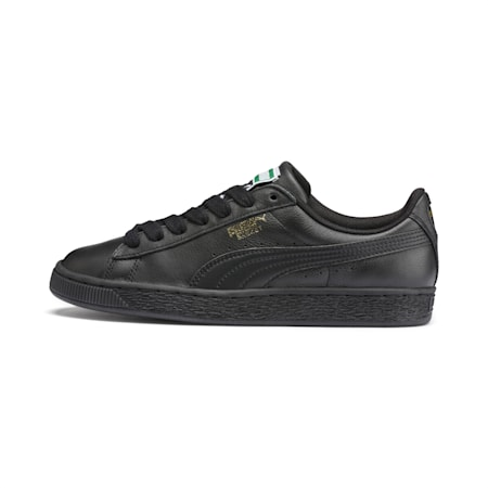Heritage Basket Classic Sneaker, black-team gold, small