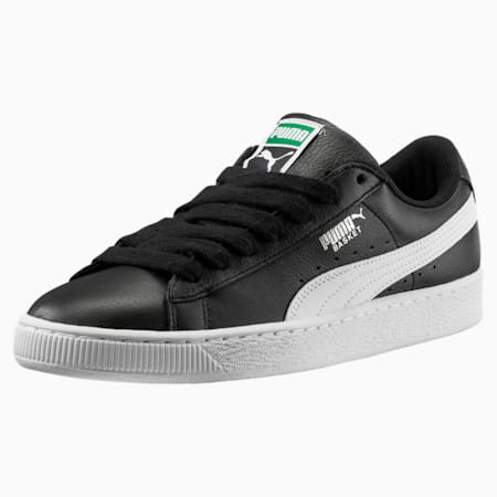 Heritage Basket Classic Trainers, black-white, small
