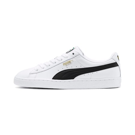 Heritage Basket Classic Sneakers, white-black, small
