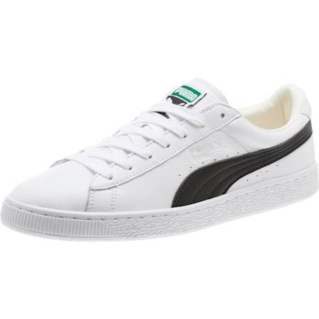 Heritage Basket Classic Sneakers, white-black, small-SEA