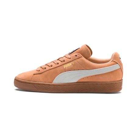 Suede Classic Women's Sneakers, Toast-Puma White, small