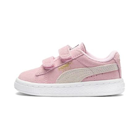 Zapatos Suede AC para bebés, pink lady-team gold, pequeño