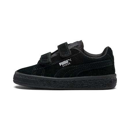 Zapatos Suede AC para bebés, Puma Black-Puma Silver, pequeño
