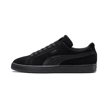 Suede Classic+ LFS Men's Sneakers, black-black-black, small