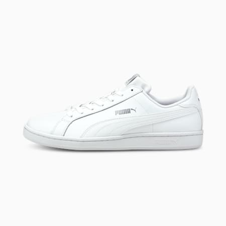 Smash leren sportschoenen, white, small