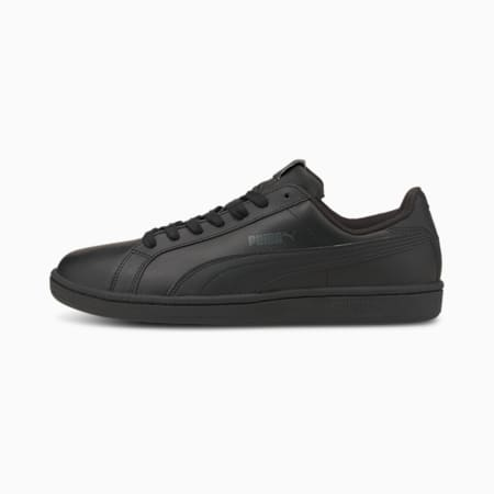 Smash Leder Sneaker, black-dark shadow, small