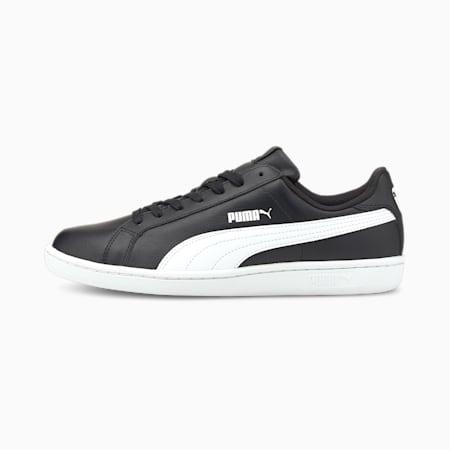 Skórzane buty sportowe Smash, black-white, small