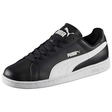 Smash Leather  Sneakers, black-white, small-IND