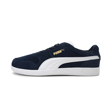 Icra Suede Shoes, Peacoat-Puma White, small-IND