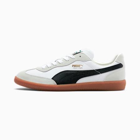 Zapatos deportivos Super Liga OG Retro, PumaWht-PumaBlk-PumaTeamGld, pequeño