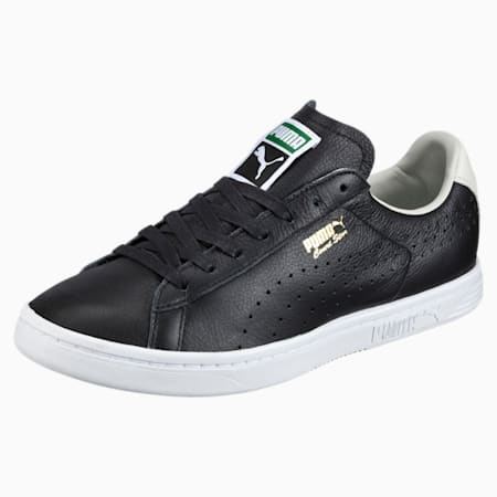 Court Star Shoes, black-white-glacier gray, small-IND