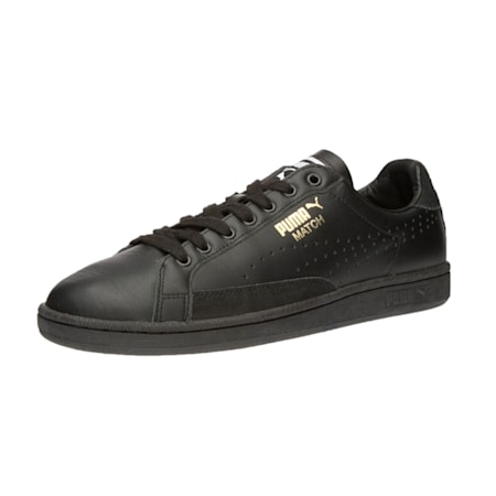 Match 74 Shoes, Puma Black-Puma Black-Black, small-IND