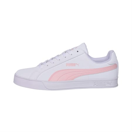 PUMA Smash Vulc Sneakers, White-Pink Dogwood-Pink, small-IND