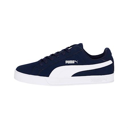 PUMA Smash Vulc Sneakers, Peacoat-Puma White, small-IND