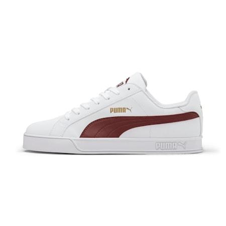PUMA Smash Vulc Unisex Sneakers, Puma White-Fired Brick, small-IND