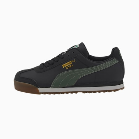 Roma Basic Summer Sneakers JR, Puma Black-Thyme, small