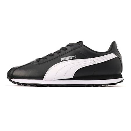 プーマ チューリン スニーカー ユニセックス, black-white, small-JPN