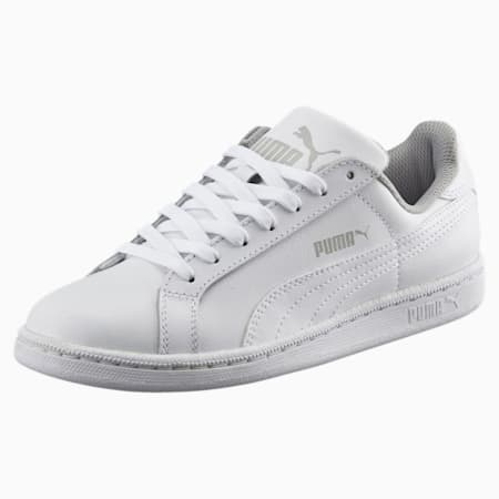Smash Jr. Trainers, white-white, small