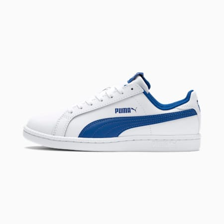 Smash Jr. Sneaker, Puma White-Lapis Blue, small