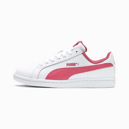 Smash Jr. Trainers, Puma White-Rapture Rose, small