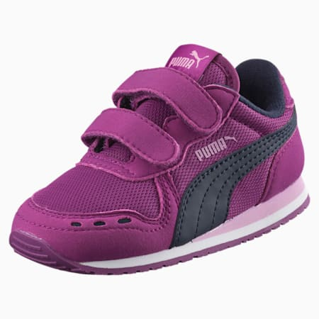 Cabana Racer Mesh AC Little Kids' Shoes, Hollyhock-Peacoat, small